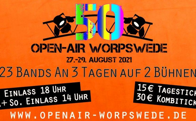 Open Air Worpswede steht vor der Tür – Sonntag, 22:30 Uhr Soulrender