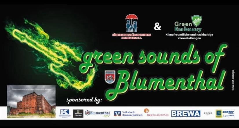 Green Sounds of Blumenthal – Heute Abend!